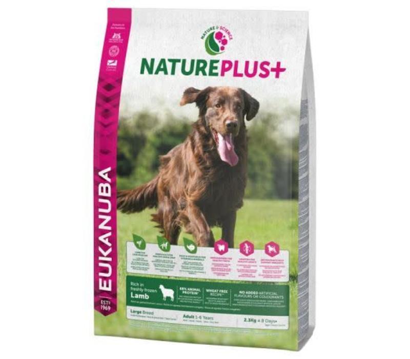 Nature Plus | Lamb |Large Breeds | 2.3KG | Adult 1-6 Years