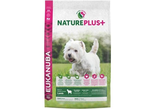 Eukanuba Nature Plus | Lamb |Small Breed | 2.3KG | Adult 1-7 Years