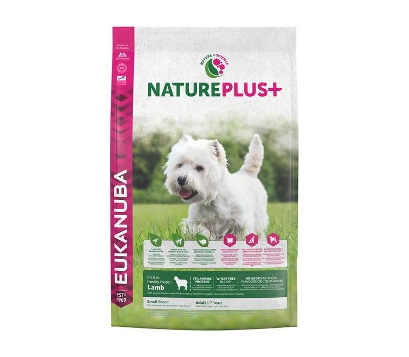 Nature Plus | Lamb |Small Breed | 2.3KG | Adult 1-7 Years