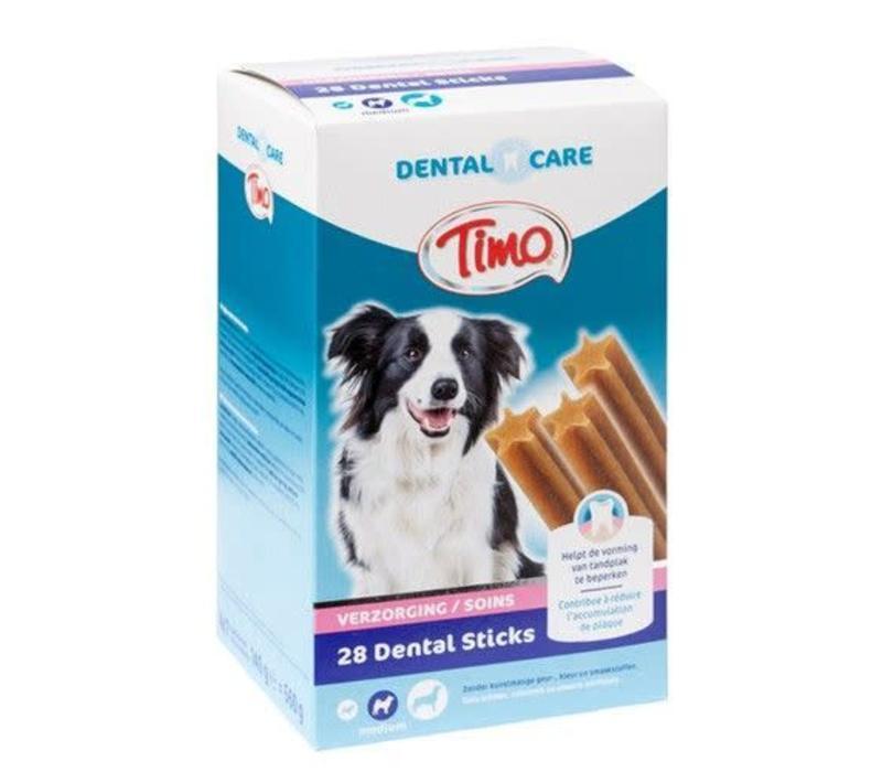 Timo | Dental care sticks m-p medium | dental | 28 stuks | Medium