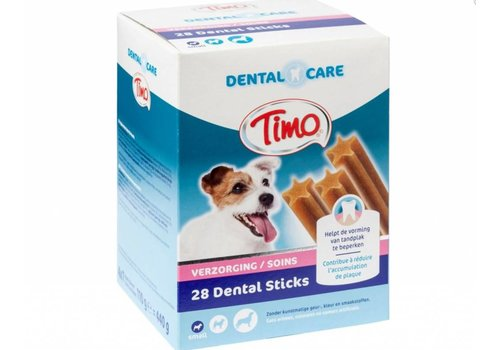 Timo Timo   Dental care sticks m-p small   dental   28 stuks   Small