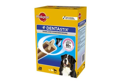Pedigree Pedigree   Dentastix m-p maxi   Dental   28 stuks   Maxi
