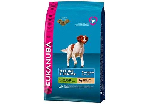 Eukanuba Eukanuba dog mature/senior all lamb&rice
