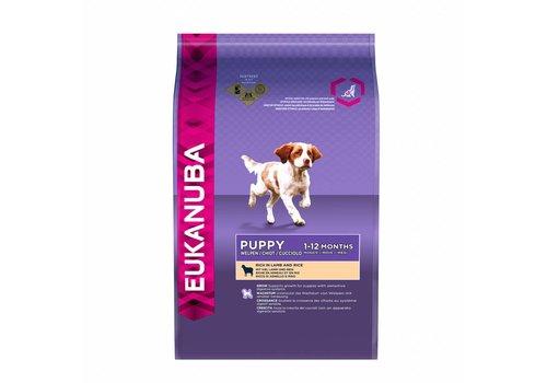 Eukanuba Eukanuba dog puppy/junior lamb&rice