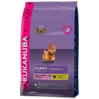 Eukanuba dog puppy/junior small chicken