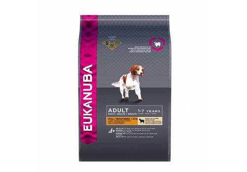 Eukanuba Eukanuba dog adult small/medium lamb&rice