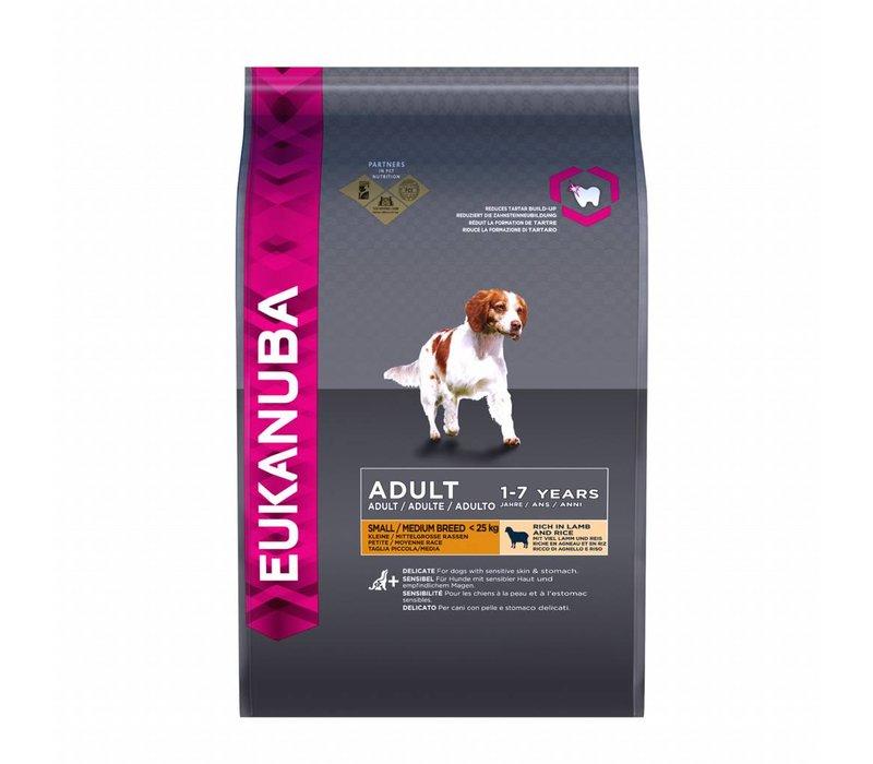 Eukanuba dog adult small/medium lamb&rice