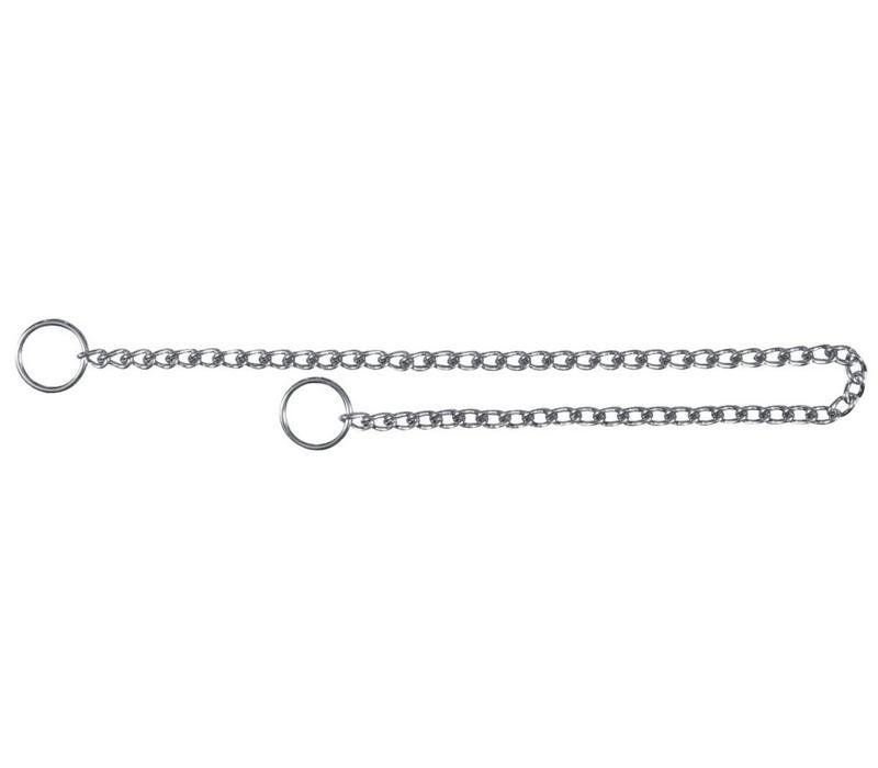 Wurghalsband, verchroomd