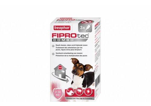 Beaphar Beaphar | Fiprotec combo Dog 2-10KG | 3 pip | 2-10KG