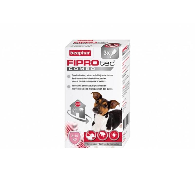 Beaphar   Fiprotec combo Dog 2-10KG   3 pip   2-10KG
