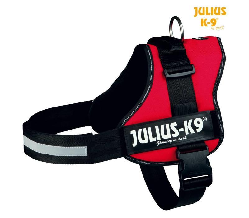 Julius-K9 Powerharness Rood