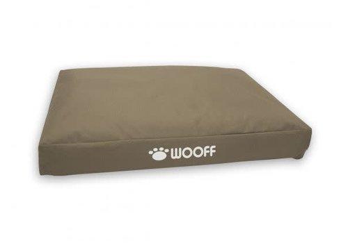 Wooff Wooff | Matras korrelkussen | 75x55x15 cm | taupe
