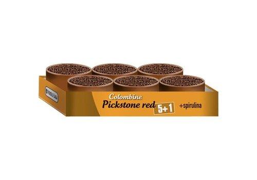 Versele-Laga Colombine | Piksteen rood | 6x650 g | tray 5+1