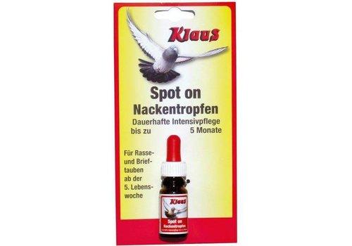 Klaus Spot On (nekdruppels vogels en duiven - 5 maanden)