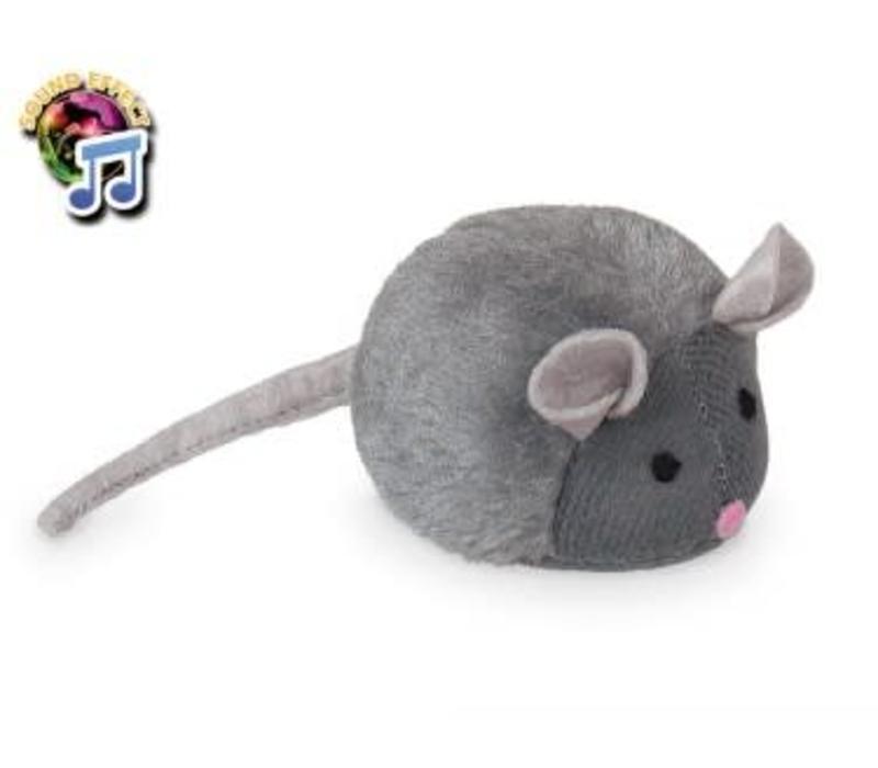Plusch Maus mit Stimme