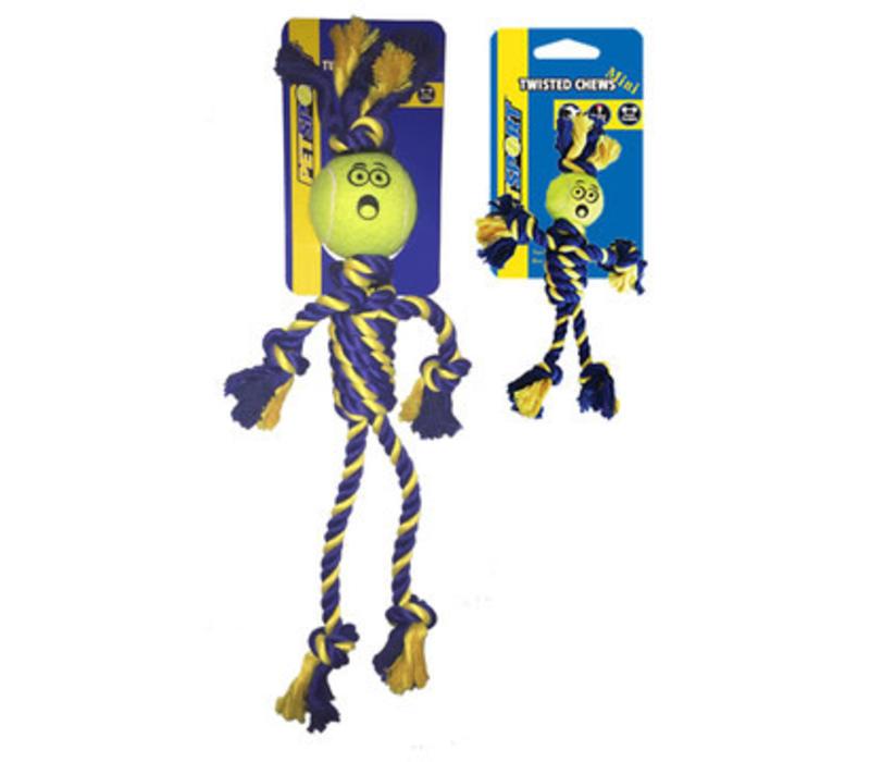 Braided Cotton Rope Rasta Man with Tuff Ball (6cm)