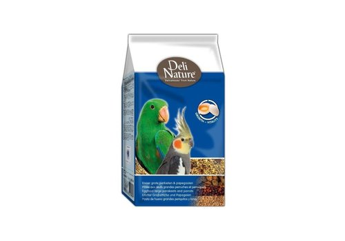 Deli Nature Deli Nature eivoer grote parkieten/papegaai