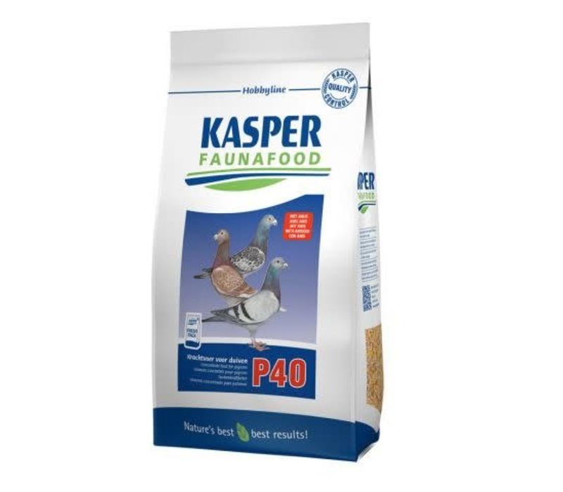 Kasper Faunafood | P40 krachtvoer voor duiven | 4 kg