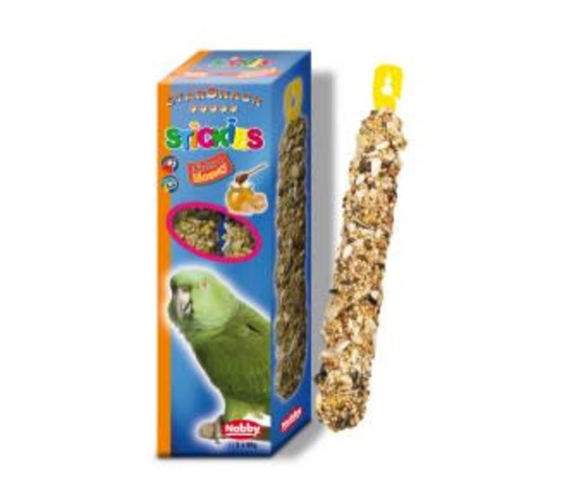 Stickies Papagei Nuss-Honig