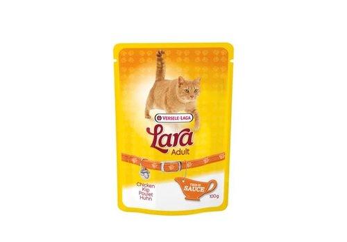 Versele-Laga Lara | Adult kip - saus - pouch | 100 g | kip | in saus