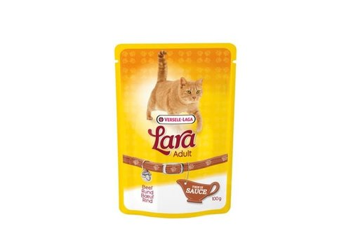 Versele-Laga Lara | Adult rund - saus - pouch | 100 g | rund | saus | in saus