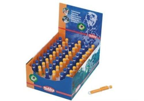 Nobby Zeckenzangen Kunststoff blau und orange