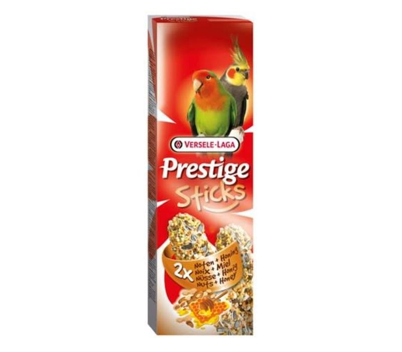 Versele-Laga Prestige | Sticks gropar noten&honing | 2x70 g