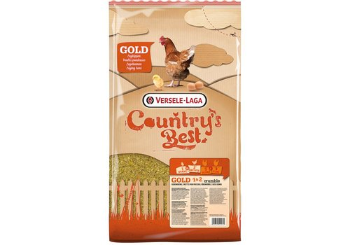 Versele-Laga Versele-Laga Country`s Best   Gold 1&2 crumble   5 kg