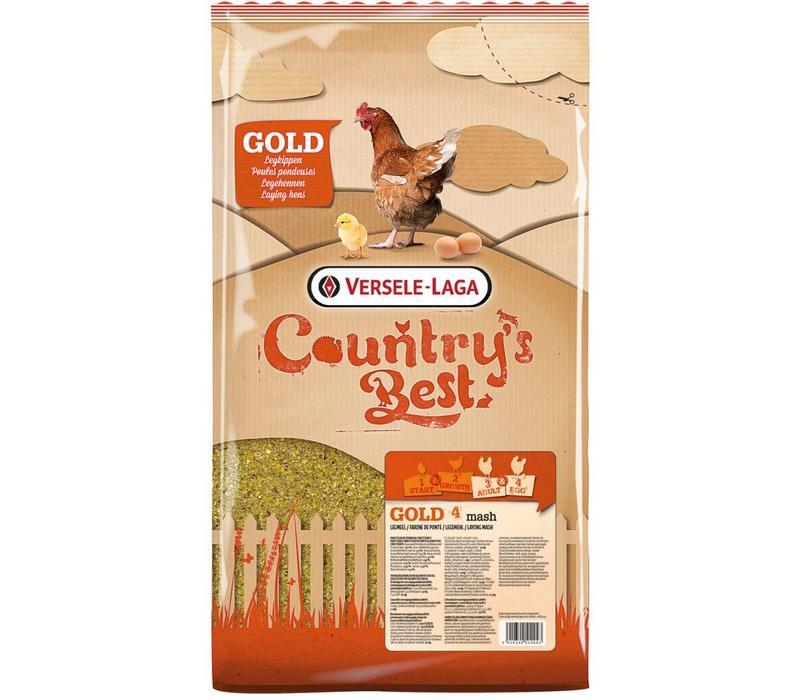 Versele-Laga Country`s Best | Gold 4 mash legmeel | 5 kg | vanaf 1e ei