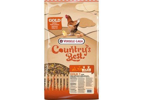 Versele-Laga Versele-Laga Country`s Best   Gold 4 Mix kip-graan+legkorrel   5 kg   standaard
