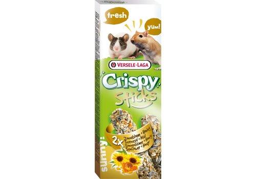 Versele-Laga Versele-Laga Crispy | Sticks gerbil&muis zonnebloem | 2x55 g | Natuur