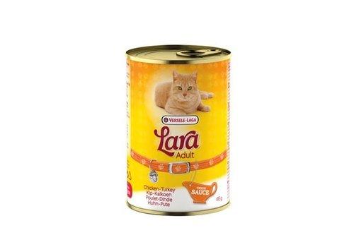 Versele-Laga Lara | Adult kip&kalkoen-saus - blik | 415 g | kip | kalkoen | in saus