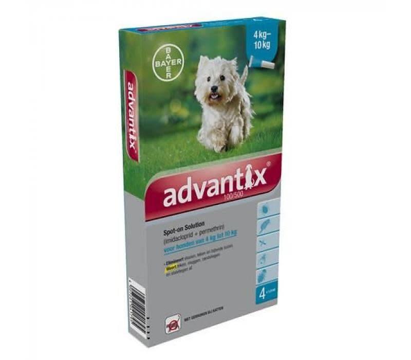 Advantix   Spot on 100   1,0 ml   4 - 10 KG