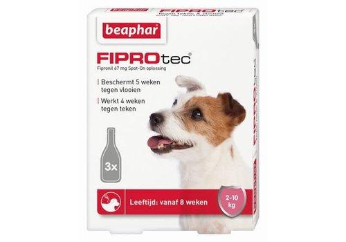 Beaphar Beaphar   Fiprotec dog  2-10kg   3 pip   2-10kg