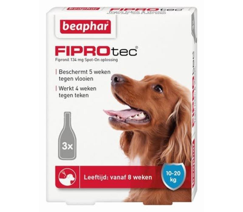 Beaphar | Fiprotec dog 10-20kg | 3 pip | 10-20kg