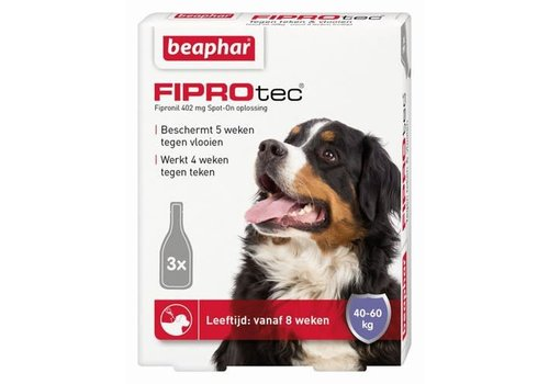 Beaphar Beaphar | Fiprotec dog 40-60kg | 3 pip | 40-60kg