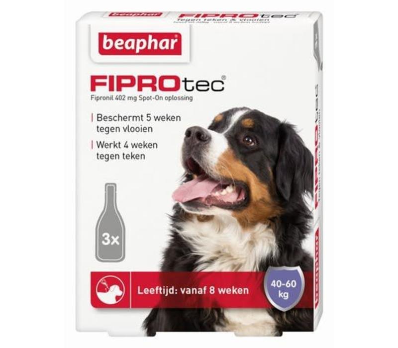 Beaphar | Fiprotec dog 40-60kg | 3 pip | 40-60kg