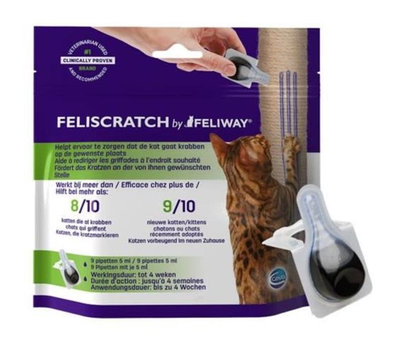 Feliscratch 9 Pipet x 5 ML