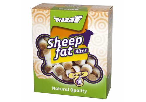 Braaaf Sheep fat Bites with Garlic