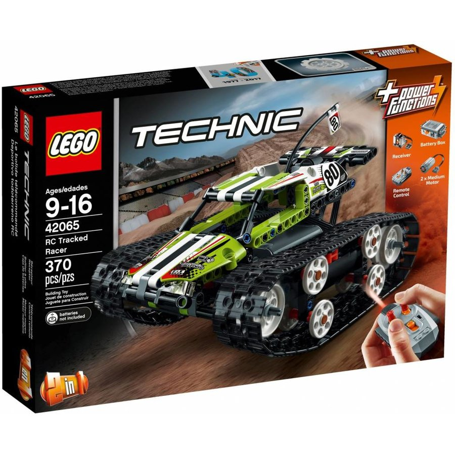 Lego technic 2 in 1 rc tracked racer 42065