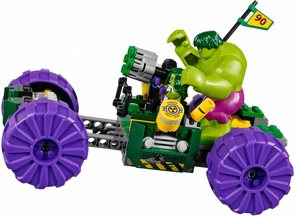 Lego – Superheroes – Hulk vs. Red Hulk – 76078 - CWJoost