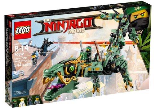 Groene Ninja Mecha Draak