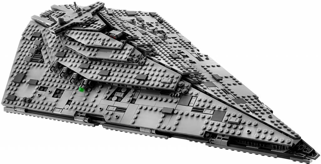 Lego Star Wars First Order Star Destroyer 75190 Cwjoost