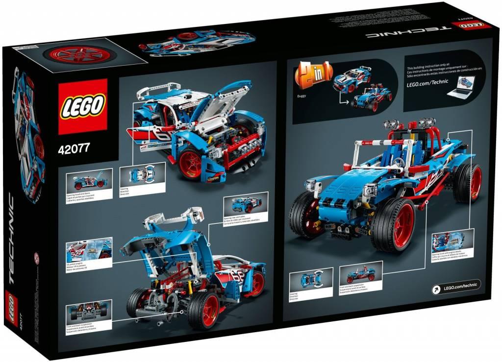 Lego Technic Rally Car 42077 Cwjoost