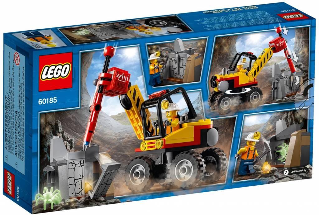 LEGO - City - Mining Power Splitter - 60185 - CWJoost