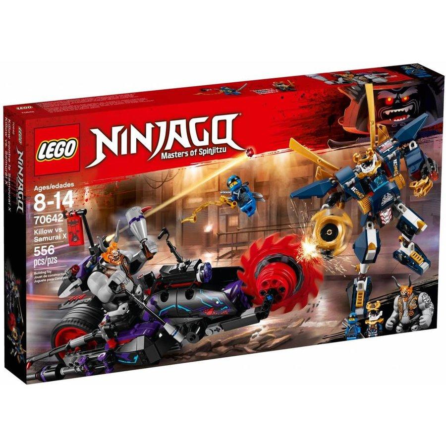 lego ninjago killow vs samurai x 70642 - Lego Ninja Go