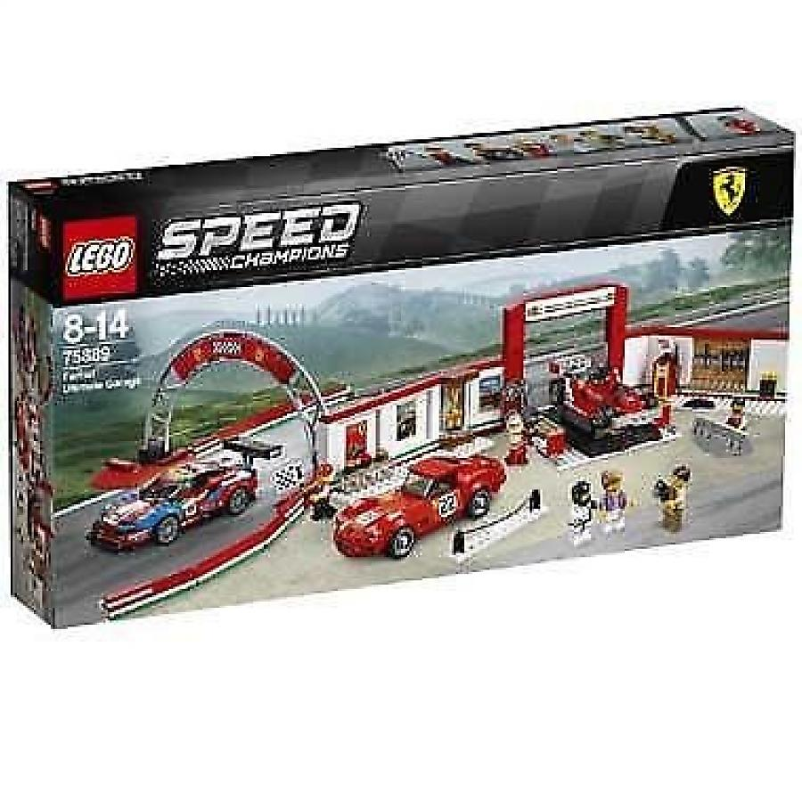 LEGO - Speed Champions - Ultieme Ferrari Garage - 75889
