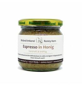 Bioland Imkerei Bio Honing met Espresso
