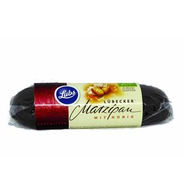 Lubs Marsepein met pure chocola (100g)