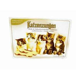 Sarotti Katzenzungen witte & melkchocolade